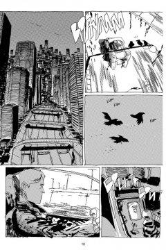 Комикс Блюз Старого Города жанр Киберпанк и Приключения
