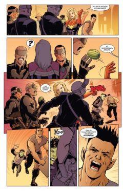 Комикс Капитан Марвел. Выше, дальше, быстрее, больше. Том 1. жанр Боевик, Боевые искусства, Приключения, Супергерои и Фантастика