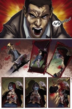 Комикс Новый Центурион: Лазурь. Глава 1 издатель Wizart Comics