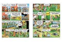 Комикс Астерикс Поединок вождей. издатель Махаон