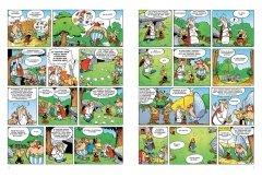 Комикс Астерикс. Золотой серп источник Астерикс и Обеликс