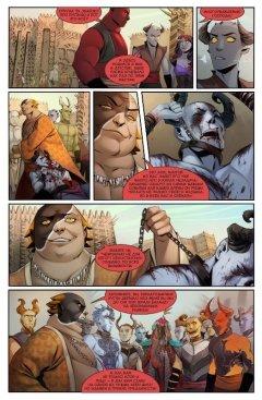 Комикс Ярх. Шаг вперёд. Часть 4. жанр Приключения и Фэнтези