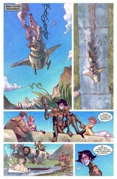 Комикс Метеора. Стоп машина! Книга 9. источник Метеора