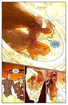 Комикс Экслибриум. Меж трёх огней. Книга 3. издатель Bubble