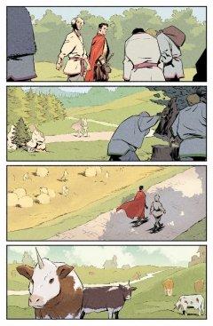 Комикс Крестовый поход: Волк. Нити судьбы. издатель Bubble
