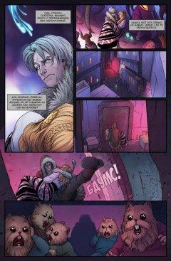 Комикс Крестовый поход: Волк #3 жанр Приключения, Фантастика и Фэнтези