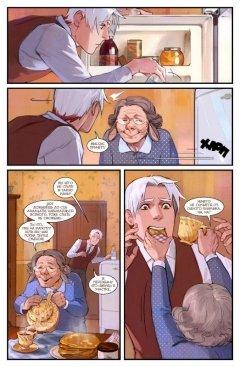 Комикс Пиджаки и Револьверы том 2: Праздник в красных тонах жанр Приключения, Фантастика и Фэнтези