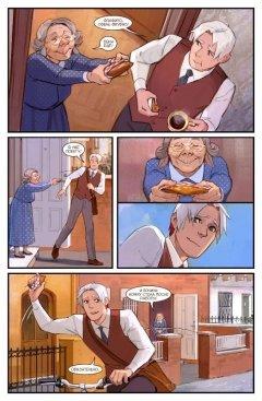 Комикс Пиджаки и Револьверы том 2: Праздник в красных тонах изображение 1