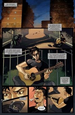 Комикс Черная рука и загадочная посылка издатель Bubble