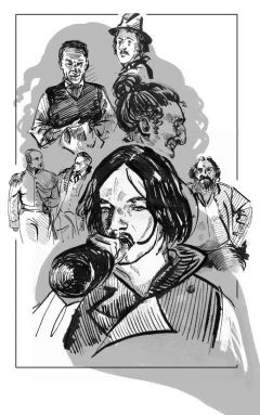 Комикс Гоголь источник Гоголь