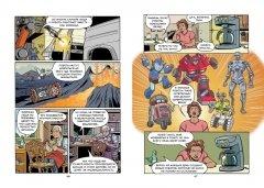 Комикс Роботы. Научный комикс жанр Приключения