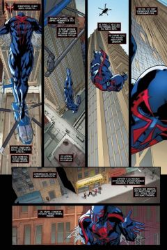 Комикс Человек-Паук 2099. Том 1. Вне времени. (Обложка Скотти Янга) источник Spider Man