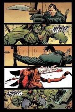 Комикс Вселенная Marvel против... Карателя жанр Боевик, Боевые искусства, Приключения, Супергерои и Фантастика