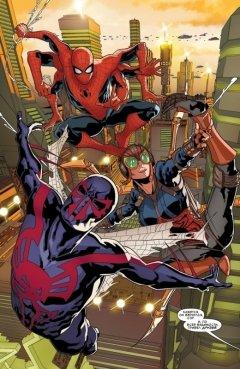 Комикс Человек-Паук 2099. Том 2. Паучьи Миры. источник Spider Man