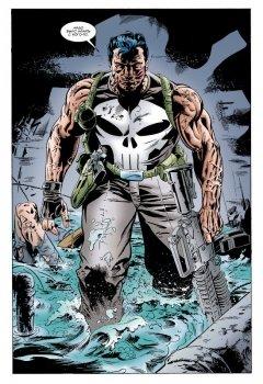 Комикс Каратель уничтожает вселенную Marvel источник The Punisher