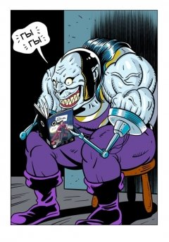 Комикс Человек-Вентилятор. Выпуск 2. жанр Приключения