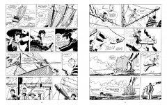 Комикс Корто Мальтезе. Сибирь (черно-белое издание) издатель Бумкнига