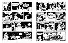 Комикс Корто Мальтезе. Сибирь (черно-белое издание) жанр Повседневность и Приключения