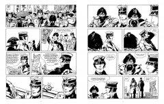 Комикс Корто Мальтезе. Сибирь (черно-белое издание) источник Корто Мальтезе