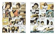 Комикс Корто Мальтезе. Баллада солёного моря (цветное издание) издатель Бумкнига