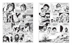 Комикс Корто Мальтезе. Баллада солёного моря (черно-белое издание) издатель Бумкнига