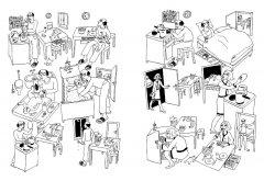 Комикс Дамы – драмы издатель Бумкнига