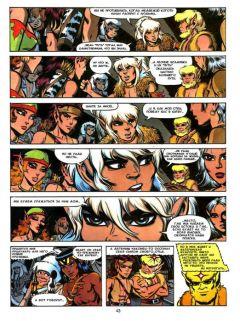 Комикс ElfQuest. Сага о лесных всадниках. Книга 4. Конец поисков. изображение 3