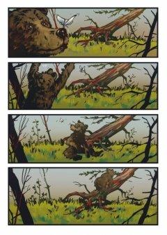 Комикс Дух Тайги. Книга 1. издатель Рускомикс