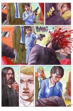 Комикс Красный конь. жанр Приключения и Фантастика