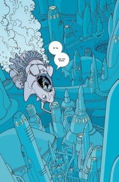 Комикс Неуязвимый. Выпуск 15. жанр Приключения, Фантастика и Школа
