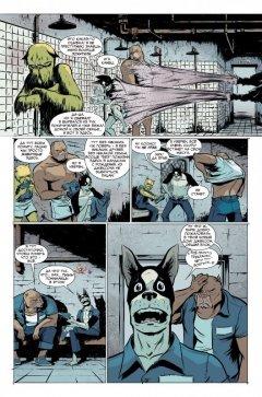 Комикс Блюз дворовых собак издатель Infinity Comics