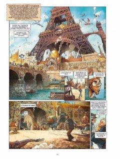 Комикс Эххо. Зеркальный мир. Том 1. Нью-Йорк. Парижская империя. жанр Приключения и Фэнтези