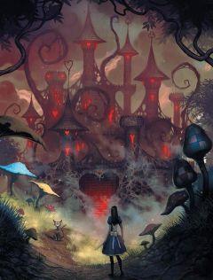 Артбук Мир игры Alice: Madness Returns автор Американ Макги