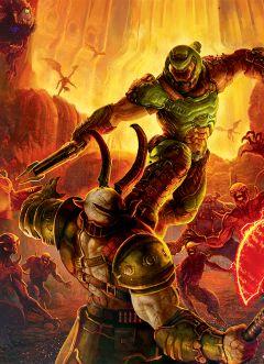 Артбук Мир игры DOOM Eternal источник DOOM