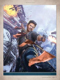 Артбук Мир трилогии Uncharted серия Uncharted