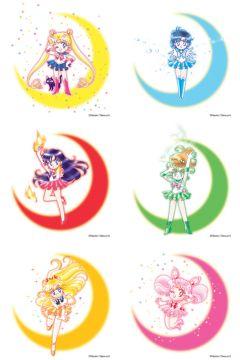 Манга Набор манги Sailor Moon. Часть 1. Тома 1-6. изображение 2