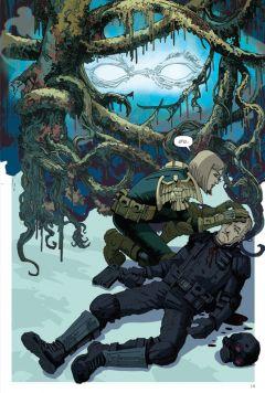 Комикс Судья Дредд: Андерсон, пси-подразделение. жанр Фантастика и Боевик