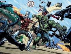 Комикс Вселенная DC. Rebirth. Лига Справедливости против Отряда Самоубийц источник Suicide Squad и Justice League