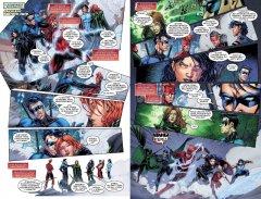 Комикс Вселенная DC. Rebirth. Титаны #4-5; Красный Колпак и Изгои #2 серия DC Comics и DC Rebirth
