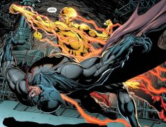 Комикс Вселенная DC. Rebirth. Бэтмен/Флэш. Значок (Бэтмен-версия) источник Flash и Batman