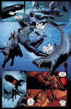 Комикс Бэтмен. Detective Comics. Укус акулы жанр Боевик, Боевые искусства, Детектив, Приключения, Супергерои и Фантастика