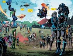 Комикс Вселенная DC. Rebirth (Сингл) жанр Боевик, Боевые искусства, Приключения, Супергерои и Фантастика